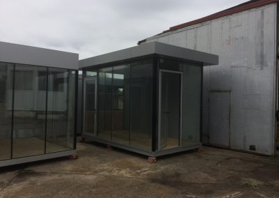 Contemporary Portable Buildings - Perfect Kiosks