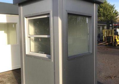 Security Kiosk 1,4m x 1,4m ( 5ft x 5ft)