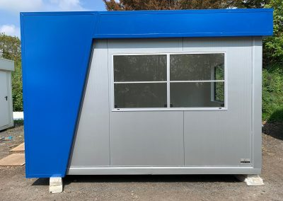 Security Kiosk 3,6m x 2,4m (10ftx8ft)