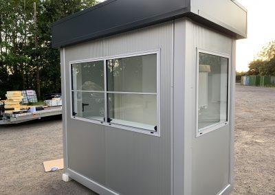 Security Kiosk 2,4m x 1,4m ( 8ft x 5ft)